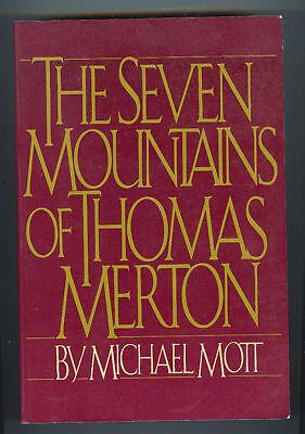 MICHAEL MOTT Seven Mountains of Thomas Merton TPB 1984