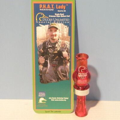 Primos - Phat Lady - Ducks Unlimited Single Reed Mallard Duck Call - Mpn 858