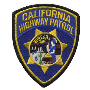 California Highway Patrol Police Department Patch