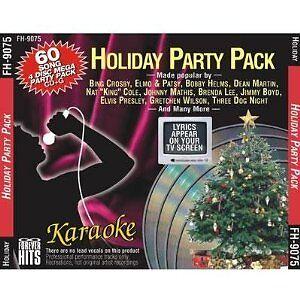 ChristmasHOLIDAY-PARTY-Karaoke-60-Sg-4-CDG-FOREVER-HITS