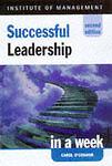 Very Good, Successful Leadership in a week, 2nd edn (IAW), O'Connor, Carol, Book