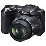 Nikon COOLPIX L110 12.1 MP Digital Camera - Black