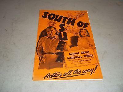 1940 SOUTH OF SUEZ MOVIE PRESS BOOK GEORGE BRENT & BRENDA MARSHALL - P 77