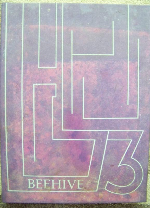 1973 Beehive Radford College Yearbook Virginia