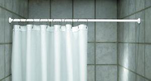 Alluminio asta per tenda doccia telescopica bastone a - Asta tenda doccia ...