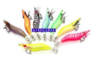 2.5 8 x squid jigs japan cuttlefish Sea lure lures 101