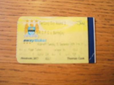 21/09/2004 Ticket: Manchester City v Barnsley [Football