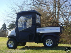 DOORS-REAR-WINDOW-Enclosure-For-Existing-Top-WS-KUBOTA-RTV500-RTV900