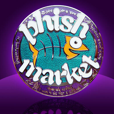 Phish Market Fun O Meter Geocoin - Re - - U/t