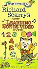 Richard Scarry's Best Learning Songs Video Ever! (VHS, 1993) (VHS, 1993)