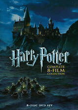 NEW Harry Potter: The Complete 8-Film Collection SHIPS IN 12 FAST FREE SEALED!
