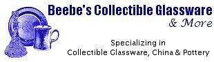 Beebe's Collectible Glass and More