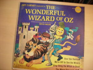 Golden-Records-Art-Carney-THE-WIZARD-OF-OZ-LP-60s