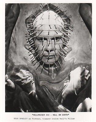 HELLRAISER III - photo print - PINHEAD, DOUG BRADLEY, HELLRAISER poster