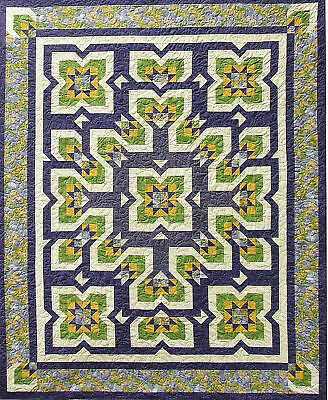 Mosaic Magic Quilt Pattern By Quilt Woman