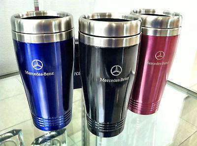 Mercedes-benz Color Tumblers-black, Blue, Or Pink