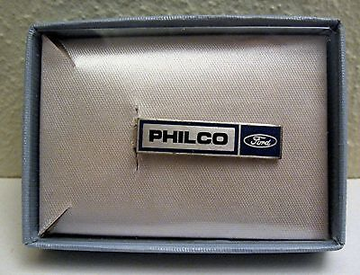 Philco Ford Automobile Advertising Tie Clip Old Stock