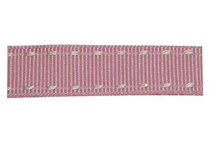 15mm-Pink-and-Ivory-Stitched-Edge-Grosgrain-Ribbon-3m