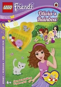 LEGO Friends Olivia's Rainbow Activity Book with Mini-set by Penguin Books Lt...