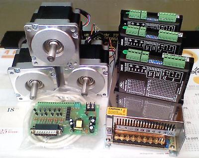Cnc Milling Machine 2 Axis Nema34 Pc Micro Step Motor Kit 4.5 N.m For Lathe
