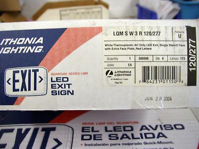 Lithonia Lighting Led Exit Sign 3ba31