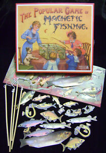 NEW-MAGNETIC-FISHING-TRADITIONAL-1800s-VINTAGE-GAME