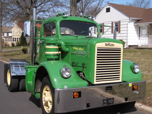 Heavy Duty Truck >> 1962 WHITE 9000TD HEAVY DUTY 220 CUMMINS DIESEL TRUCK ...