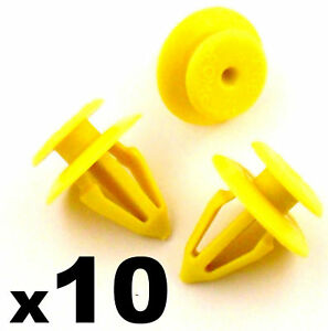 10x-Ford-Interior-Door-Card-Panel-Retainer-Trim-Clips