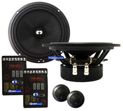 Cdt Audio Es-620 Eurosport 6.5 2-way Component Speakers Crossovers Tweeters on sale