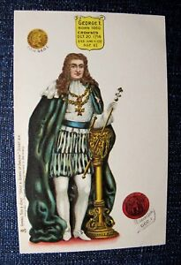 KING-GEORGE-I-Tuck-Chromo-Postcard-England-Royalty-1905