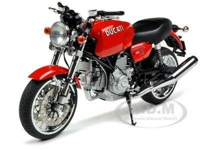 DUCATI GT 1000 RED 1/12 DIECAST MODEL BY AUTOART 12546