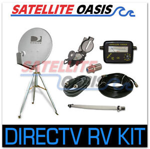 DIRECTV Satellite Dish Tripod Kit  for RV Tailgating