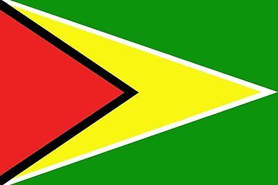 GUYANA GUYANESE FLAG 5FT X 3FT