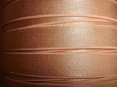 elastisches Band caramel 10 Meter M35 nur 28 Cent pro Meter