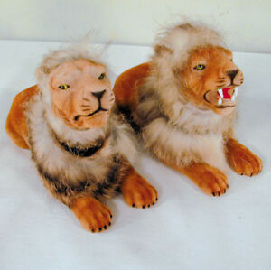NEW-BOBBLE-HEAD-LIONS-wild-life-lion-animal-toy-tiger-novelty-toys-bobbing
