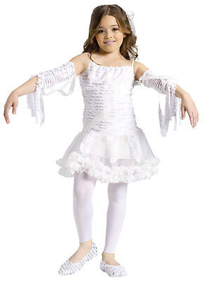 Mumie Kleid Ghul Ghost Kinder Mädchen Halloween Kostüm M