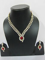 Kundan Necklace Set Christmas Gift Idea