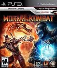 Mortal Kombat [Best Buy Exclusive]  (Sony Playstation 3, 2011) (2011)