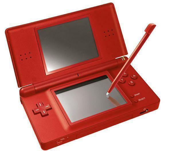 Ebay nintendo ds lite super mario bros limited edition red handheld system - List of nintendo ds consoles ...