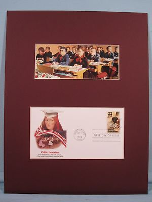 Honoring Teachers & Public Education & First Day Cover
