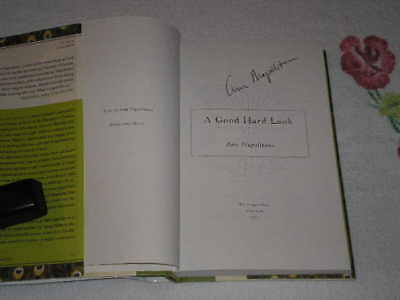 A Good Hard Look By Ann Napolitano Signed
