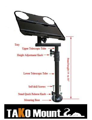 Laptop, Ipad, Netbook Mount Stand Table with Cup Holder for Car/Truck