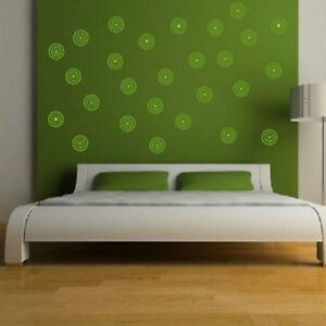 target spot removable vinyl decal stylish art decor big wall decal ra68 ebay. Black Bedroom Furniture Sets. Home Design Ideas