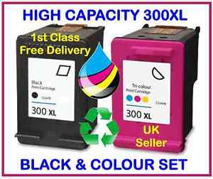 HP-300XL-Black-and-300-XL-Colour-INK-CARTRIDGES-SET-Deskjet-F4280-F4580-F2480