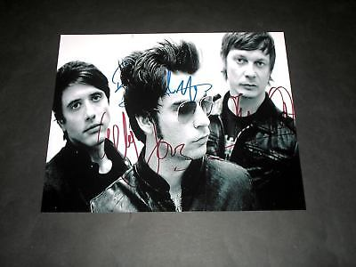 "STEREOPHONICS PP SIGNED 10""X8"" PHOTO REPRO KELLY JONES"
