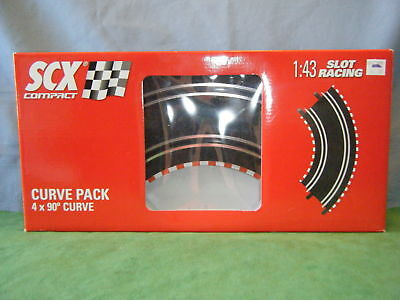 Scx 1 43 Compact Slot Car Curve Track   New