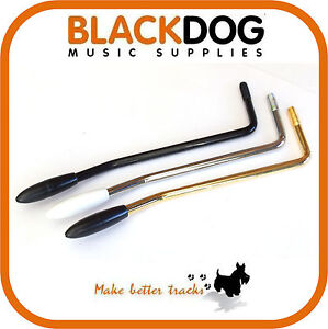Left hand tremolo arm 6mm chrome black or gold handed