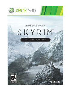 The Elder Scrolls V: Skyrim  (Xbox 360, ...
