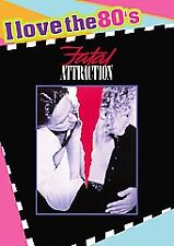 Fatal Attraction (DVD, 2008, I Love the 80's; Widescreen) BRAND NEW