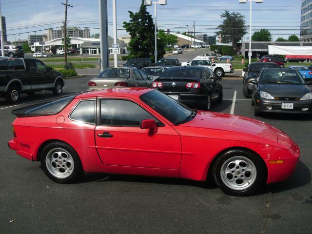 1986 Porsche 944 Turbo Bright Red Leather Sunroof Nice Red